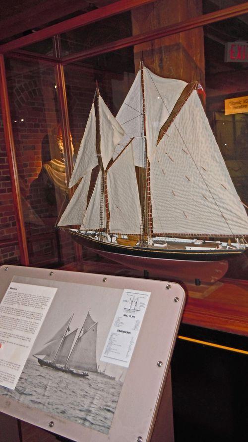Maritime Museum, Halifax - Bluenose II Model